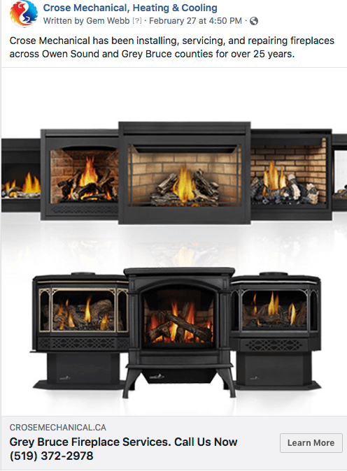 OWEN SOUND FIREPLACE SERVICES