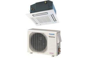 Panasonic 4-Way Ceiling Cassette Cool & Heat System E18RB4U